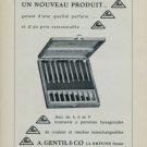 A. Gentil & Co. La Brevine Switzerland Vintage 1956 Swiss Print Ad Publicite Suisse Horlogerie