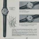 Breitling Watch Company Vintage 1956 Swiss Ad Suisse Advert Horlogerie Geneva Switzerland