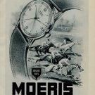 1956 Moeris Watch Company St-Imier Vintage 1956 Swiss Ad Publicite Suisse Montres