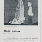 David Hockney Grimm's Fairy Tales 1969 Art Ad Publicite Advert Advertisement