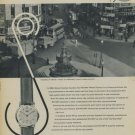 Vintage 1957 Rotary Watch Factory Swiss Print Ad Suisse Publicite Montres