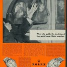 1957 Rolex Watch Company Geneva Switzerland Vintage 1957 Swiss Ad Suisse Advert