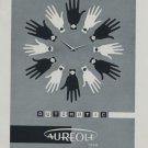 Vintage 1959 Aureole Watch Company La Chaux-de-Fonds Swiss Print Ad Suisse Publicite Montres