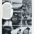 1956 Gruen Watch Company Trans World Airlines TWA Vintage Swiss Print Ad Suisse Publicite Montres
