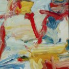 Willem de Kooning Untitled V Art Ad Advertisement + Detail