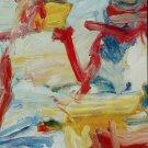Willem de Kooning Untitled V Art Ad Publicite Advert Advertisement
