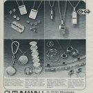 1977 Jewelers Guthmann + Wittenauer Pforzheim Germany Swiss Print Ad Suisse Publicite Schweiz Suiza
