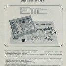 Albert Froidevaux & Fils ETIC 1977 Swiss Ad Suisse Advert Horlogerie Horology