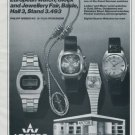Arctos Watch Company Pforzheim Germany Vintage 1977 Swiss Ad Advert Horlogerie
