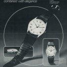 Concord Watch Company Switzerland Vintage 1977 Swiss Ad Suisse Advert Horology Horlogerie