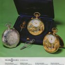 Reuge Watch Company Reuge Music Switzerland Vintage 1977 Swiss Ad Suisse Advert