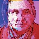 Original 1980 Andy Warhol Art Exhibition Ad Publicite Advert Gertrude Stein Advertisement