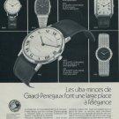 1977 Girard-Perregaux SA Watch Company Switzerland Swiss Print Ad Suisse Publicite Montres Schweiz