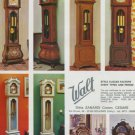 Walt Clock Company Italy Zanardi Vintage 1977 Swiss Ad Suisse Advert Horlogerie
