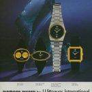 1977 Wittnauer Watch Company Switzerland Swiss Print Ad Suisse Publicite Montres Schweiz Suiza