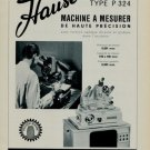 1956 Hauser Machine Company Bienne Switzerland Swiss Print Ad Suisse Publicite Henri Hauser S.A.