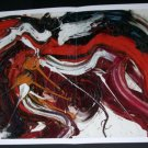 Kazuo Shiraga Kaku Rou Threatening Wolf Art Ad Advertisement
