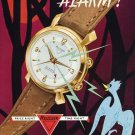 1956 Reusser Watch Company Bevilard Switzerland Swiss Print Ad Suisse Publicite Montres Schweiz