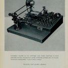 1956 A. Gentil La Brevine Suisse Switzerland Swiss Print Ad Suisse Publicite Horlogerie Horology
