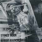 1969 Robert Rauschenberg Stoned Moon Vintage 1969 Art Ad Advert Advertisement