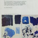1974 Joan Mitchell Envisionments Vintage 1974 Art Magazine Article