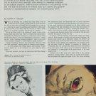 Franz Kline Kline's Transitional Abstractions 1946-50 1974 Art Magazine Article by Harry F. Gaugh