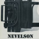 Louise Nevelson Sky Gates and Collages Publicite Advert Vintage 1974 Art Exhibition Ad Pace Gallery