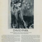 David Park Vintage 1974 Art Ad Daphne Advert Advertisement