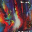 Leonardo Nierman Vintage 1971 Art Exhibition Ad Publicite Advert El Paso Museum of Art