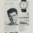 1958 Tissot Seastar T12 Visodate  Watch Advert Swiss Print Ad Publicite Suisse Montres