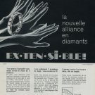 1971 Jeweler Henri Lesieur Paris France Vintage 1971 Swiss Ad Suisse Publicite Advert