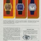 Certina Watch Company 288 Vintage 1971 Swiss Ad Suisse Advert Horlogerie