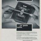 1971 KIF Parechoc SA Le Sentier Switzerland Swiss Ad Suisse Advert Horlogerie Horology