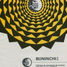 Boninchi S.A. Company Geneva Switzerland Vintage 1971 Swiss Ad Suisse Advert Horlogerie Horology