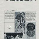 Ebauches S.A. Vintage 1971 Swiss Ad Suisse Advert Horlogerie Horology