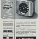 1971 Girard-Perregaux Watch Company Swiss Ad Advert Publicite Suisse CH