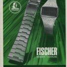 Artur Fischer Bander + Gehause Company 1975 Swiss Ad Advert Suisse Horlogerie