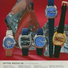 Buttes Watch Company Switzerland BWC Vintage 1975 Swiss Ad Suisse Advert