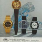 1975 Mido Watch Company Bienne Switzerland Vintage 1975 Swiss Ad Suisse Advert G Shaeren