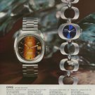 1975 Oris Watch Company Holstein Switzerland Vintage 1975 Swiss Ad Suisse Advert Horology