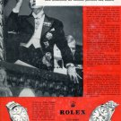 Rolex Watch Company Switzerland Vintage 1963 Swiss Ad Suisse Advert Horlogerie