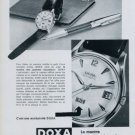 1959 Doxa Watch Company Doxa Individual 1959 Swiss Ad Suisse Advert Horlogerie Horology