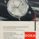 1963 Doxa Watch Company Le Locle Switzerland Vintage 1963 Swiss Ad Suisse Advert Horlogerie