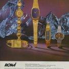 RoWi Rodi & Wienenberger Germany 1975 Swiss Ad Advert Horlogerie Horology