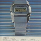 Longines Watch Company St-Imier Switzerland Vintage 1975 Swiss Ad Suisse Advert