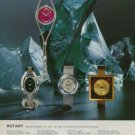 1975 Rotary Watch Company Switzerland Vintage 1975 Swiss Ad Advert Suisse Horlogerie