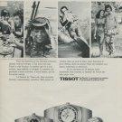 1975 Tissot Watch Company Switzerland Tissot Seastar Advert Vintage 1975 Swiss Ad Suisse Advert