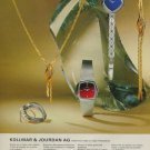 1975 Jewelers Kollmar & Jourdan AG Pforzheim Germany Vintage 1975 Swiss Ad Suisse Advert