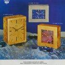 1971 Imhof Clock Company Arthur Imhof S.A. Switzerland Vintage 1971 Swiss Ad Suisse Advert