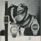 1975 Sandoz Watch Company Switzerland Vintage 1975 Swiss Ad Suisse Advert Horology